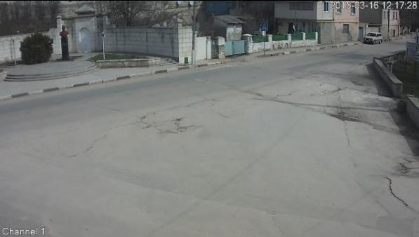 Веб-камера online в Бахчисарае 'Памятник Исмаилу Гаспринскому