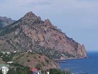 Видеокамеры Крыма: Курортное обзорная web камера с видом на пляж. Набережная.