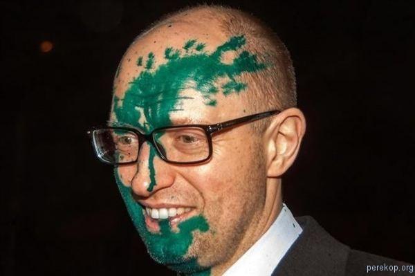 Облили или накрасили Навального? Украина, Россия, политика, фотография, зеленка, навальный, облили зеленкой